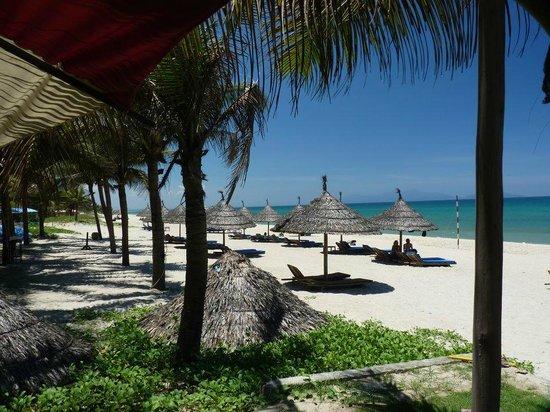 View from Cua Dai Beach,Hoi An towards An Bang