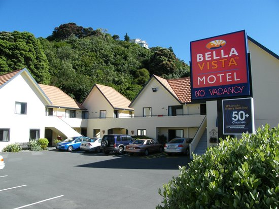 Bella Vista Motel Wellington: Bella Vista Font