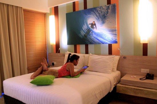 Bliss Surfer Hotel: Deluxe Room