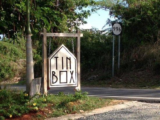 Tin Box: Sign