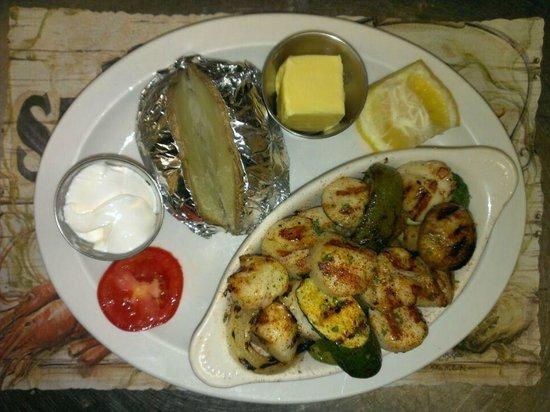 Ocean Harvest Restaurant: Grilled Scallops