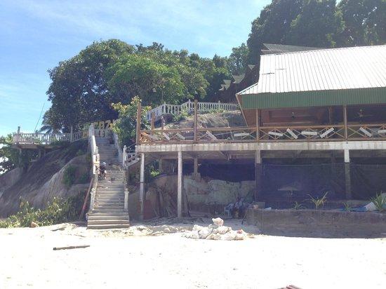 New Cocohut & Cozy Chalets: Baustelle am Strand