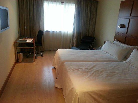 TRYP Valencia Azafata Hotel: Ausreichende Größe