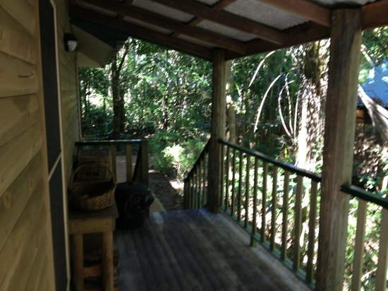 Narrows Escape Rainforest Retreat: View from the cottage