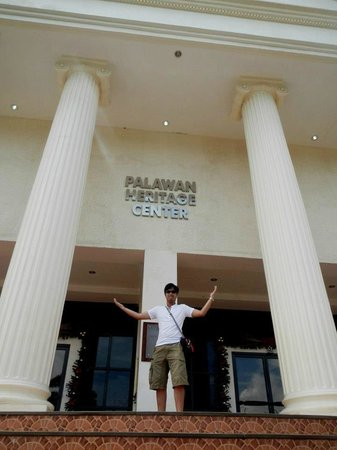 Palawan Heritage Center: The heritage center from the outside
