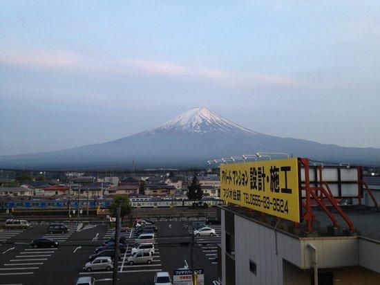 Plaza Inn Kawaguchiko: お部屋からの眺め。