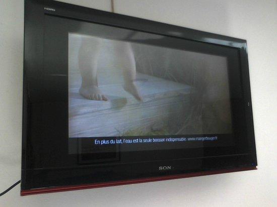Hotel De La Pergola: Fausse SONY chinois, l'ensemble de l'écran n'est pas réellement utile