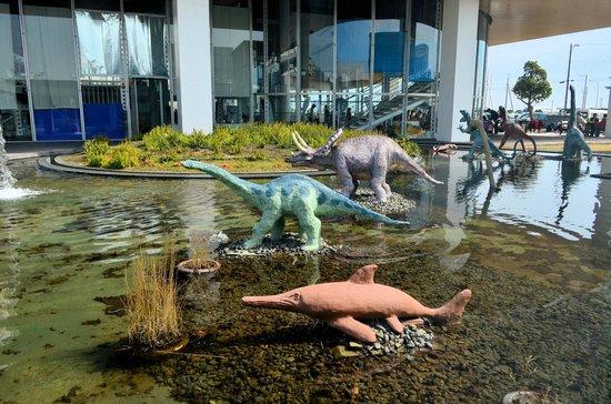 Gamagori Museum of Earth: 生命の海科学館の外部展示品