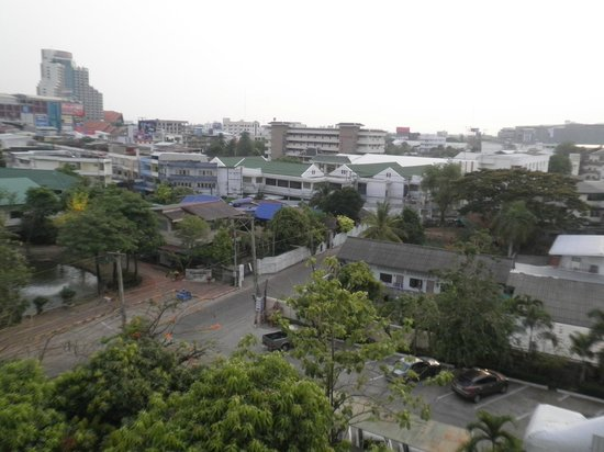 Chaipat Hotel: View from my balcony.