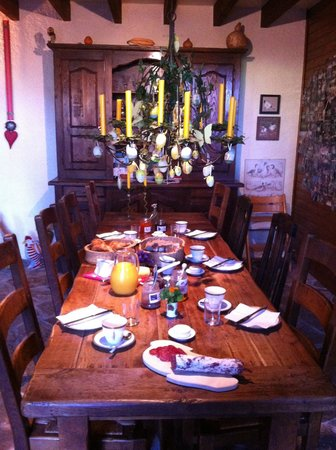 Domaine du Pujol: Déjeuner.....