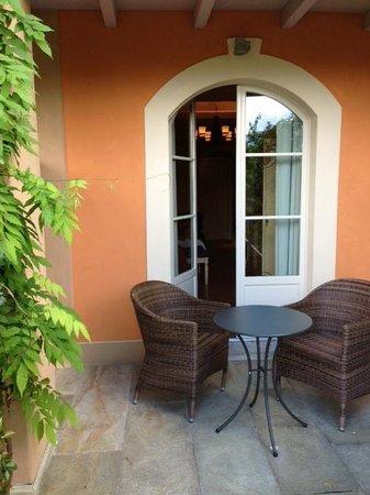 Park Hotel Villa Belvedere: Sitzplatz