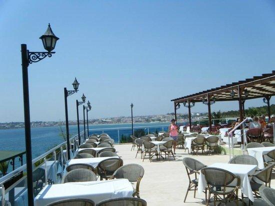 Palm Wings Beach Resort: Restaurant