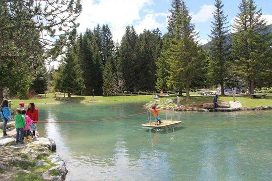Ski resort Lenzerheide: rope boat