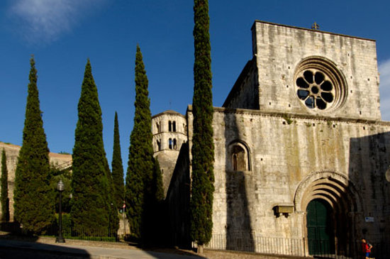 Girona, España: Monasterio Sant Pere de Galligants