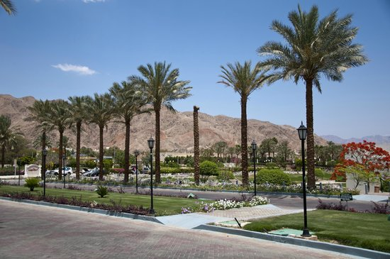 Movenpick Resort Taba Hotel : Parc