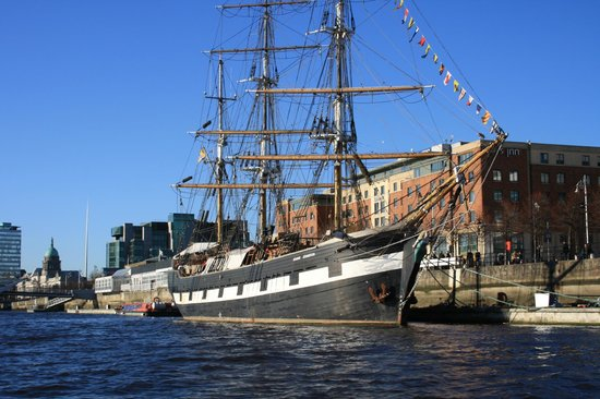 Photo of Tourist Attraction Jeanie Johnston Tall Ship and Famine Museum at Custom House Quay, Dublin, Ireland