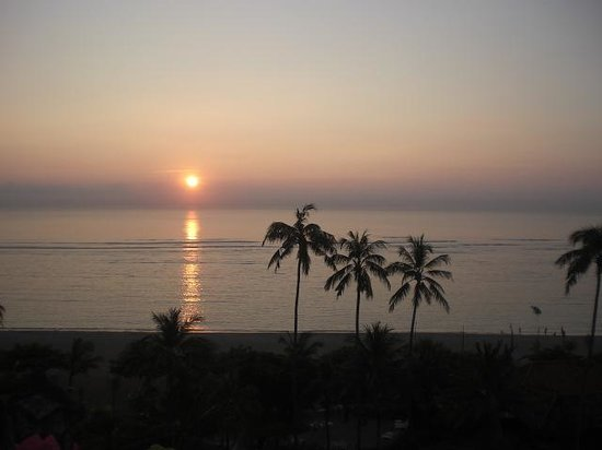 Inna Grand Bali Beach Hotel: zonsopgang