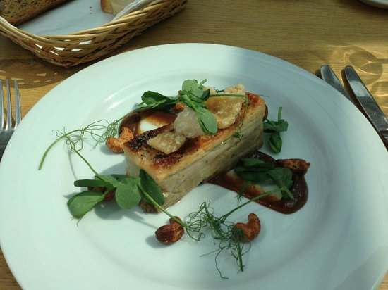 The White Horse Restaurant: Pork Belly