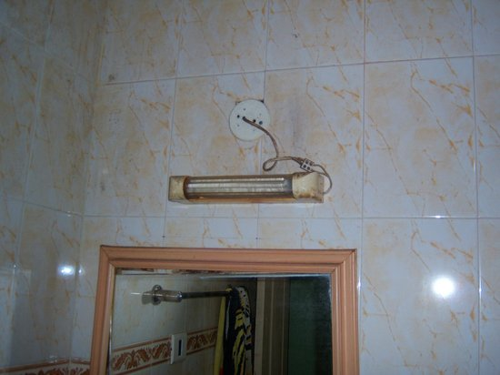 Shree Damodar Regency: Bathroom light