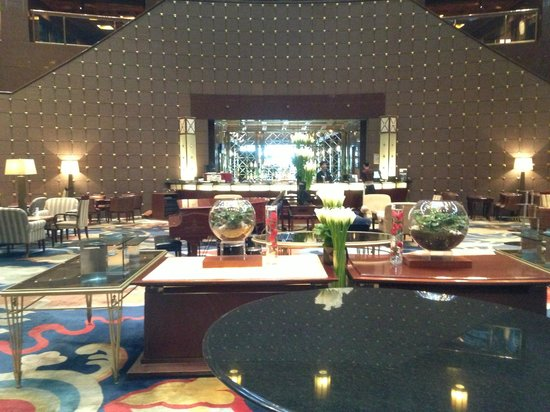 Grand InterContinental Seoul Parnas: The very beautiful and comfortable main lounge and bar