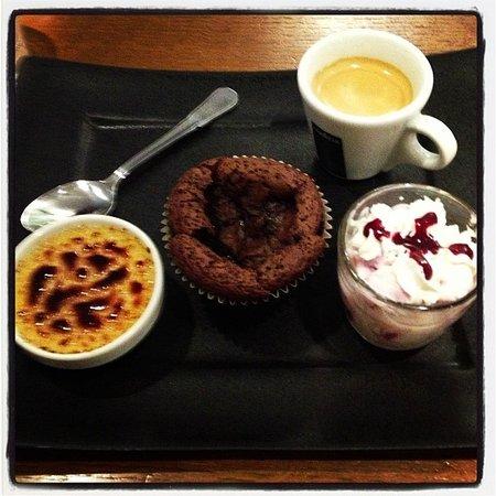 Le Victoria: café gourmand