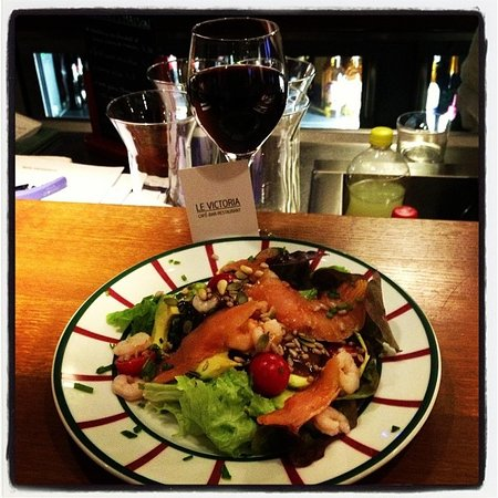 Le Victoria: Salade nordique
