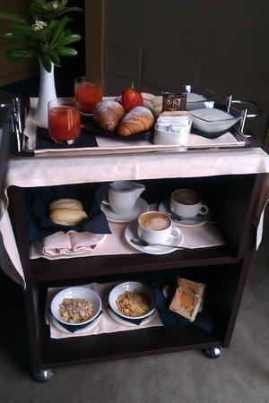Villa dei Platani Boutique Hotel & Spa: la colazione