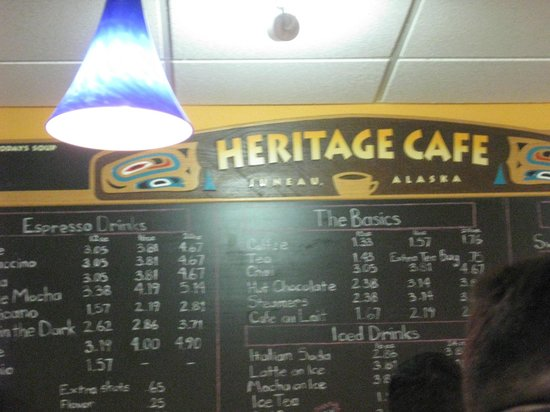 Heritage Downtown Cafe #1: Interior
