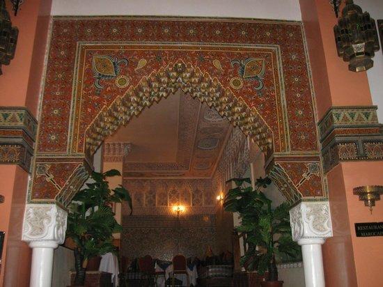 Ametis Nouzha Hotels Fez: Eingang zum Restaurant