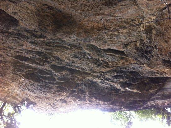 Climbing near Chalet Martin