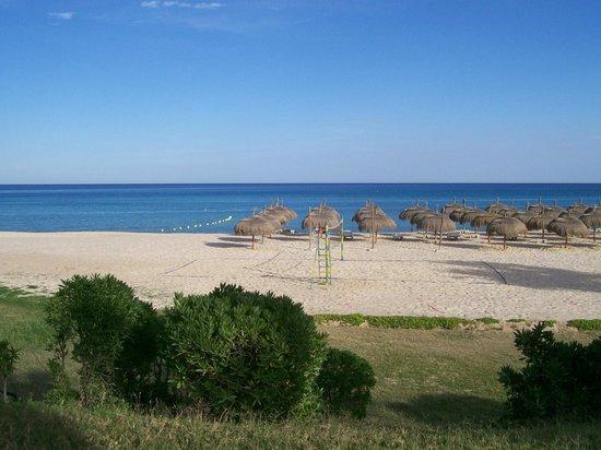 El Mouradi Beach : Blick auf Strand und Meer