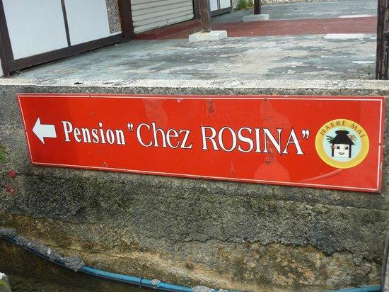 Pension Chez Rosina : c'est bien là