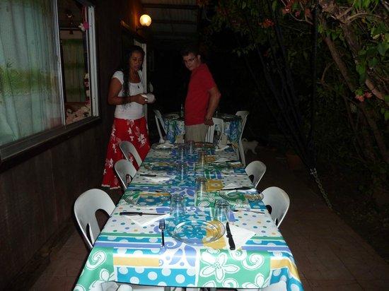 Pension Chez Rosina: la terrasse