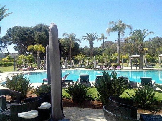sofitel rabat jardin des roses piscine - Piscine Jardin