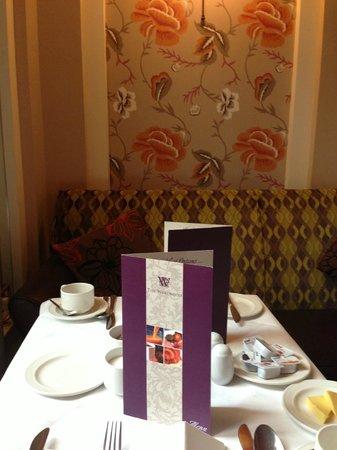Westwood House Hotel: Frühstück