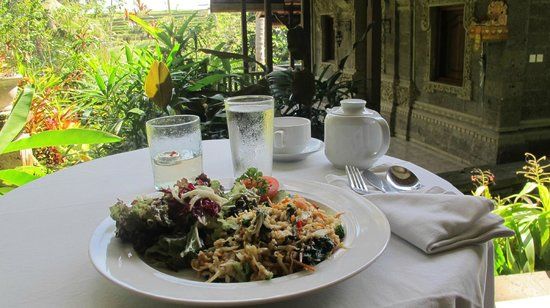 Oneworld Retreats Kumara: Room service Nasi Goreng