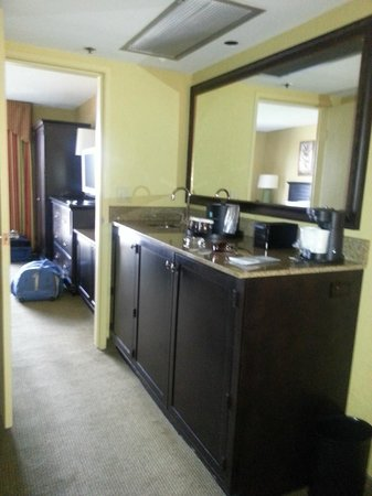 Embassy Suites by Hilton Fort Lauderdale 17th Street: Our Suite