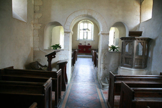 St Mary's Church: View from the nave