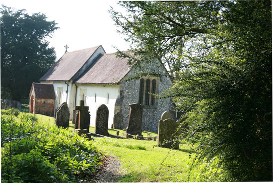 St Mary's Church: View of the East wall from outside