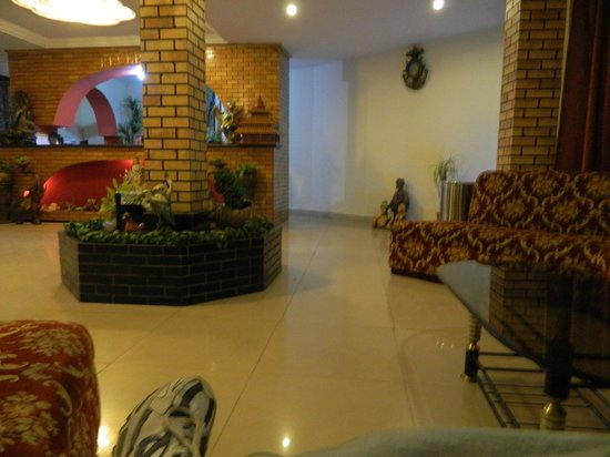 Hotel Mountain Top: lobby