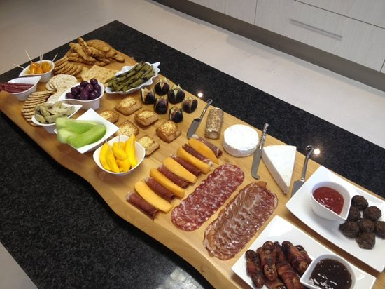 Cape Pillars Boutique Hotel: Mouth-watering Platter