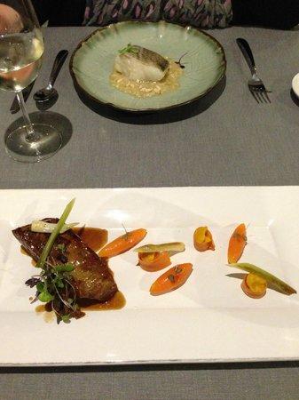 Parr Restaurant: Bacalao and Mallorquin lamb