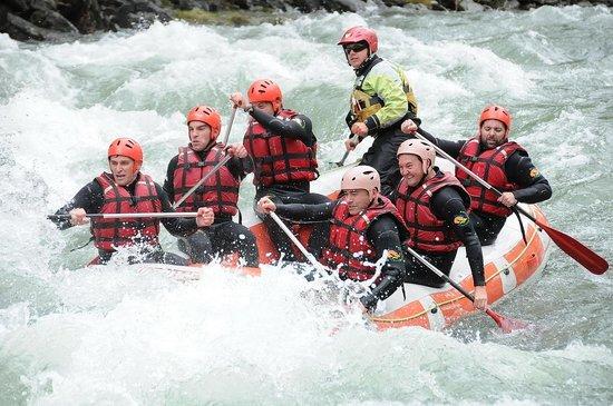 Roca Blanca: Rafting Llavorsí