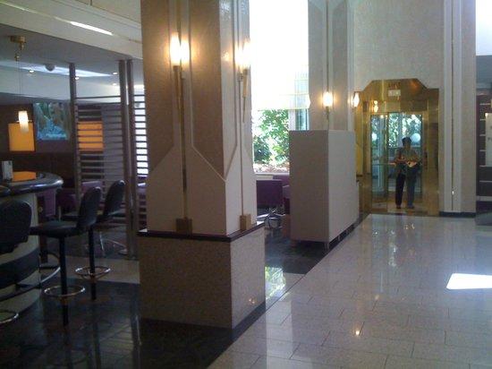 Hotel Frankenland: O hall do Hotel