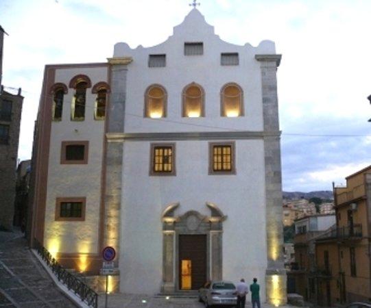 Casa Vacanze Caccamo: chiesa Badia Caccamo