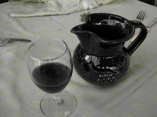 La Vecchia Osteria: Lovely local wine