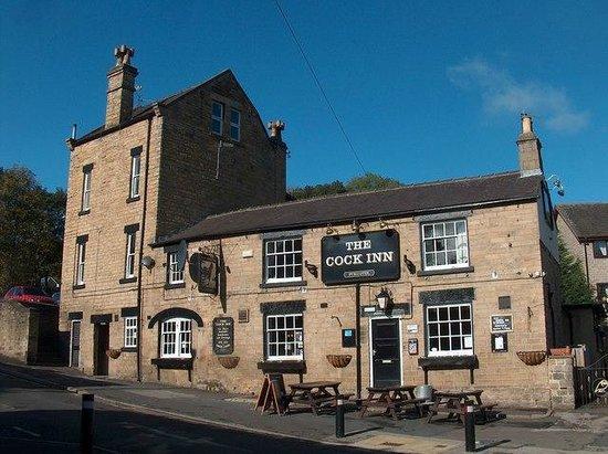 The Cock Inn: Sunny Day in Oughtibridge