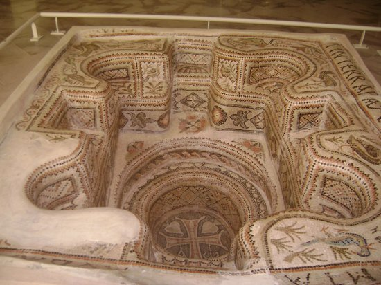 Sousse Archaeological Museum : The baptismal font