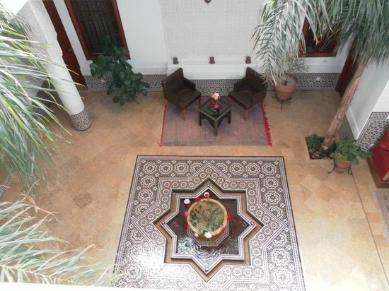 Riad Viva: Ground floor, centre of Riad