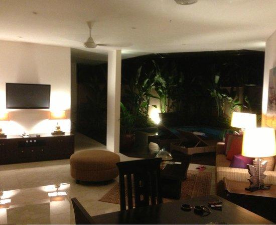 โรงแรมกานิชกา วิลล่าส์: spacious